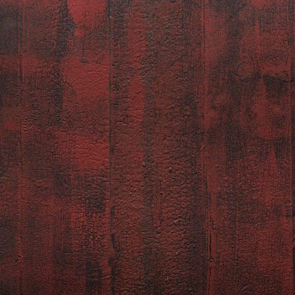 Feuille de bois brulé Naturamat Yakisugiflex Aka Rouge 1105