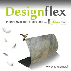 Designflex feuille de pierre naturelle flexible NATURAMAT