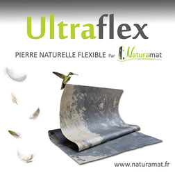 ULTRAFLEX feuille de pierre naturelle ultra flexible NATURAMAT