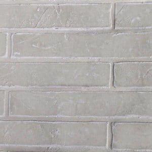 Feuille de brique Naturamat Brickflex Blanc 4R