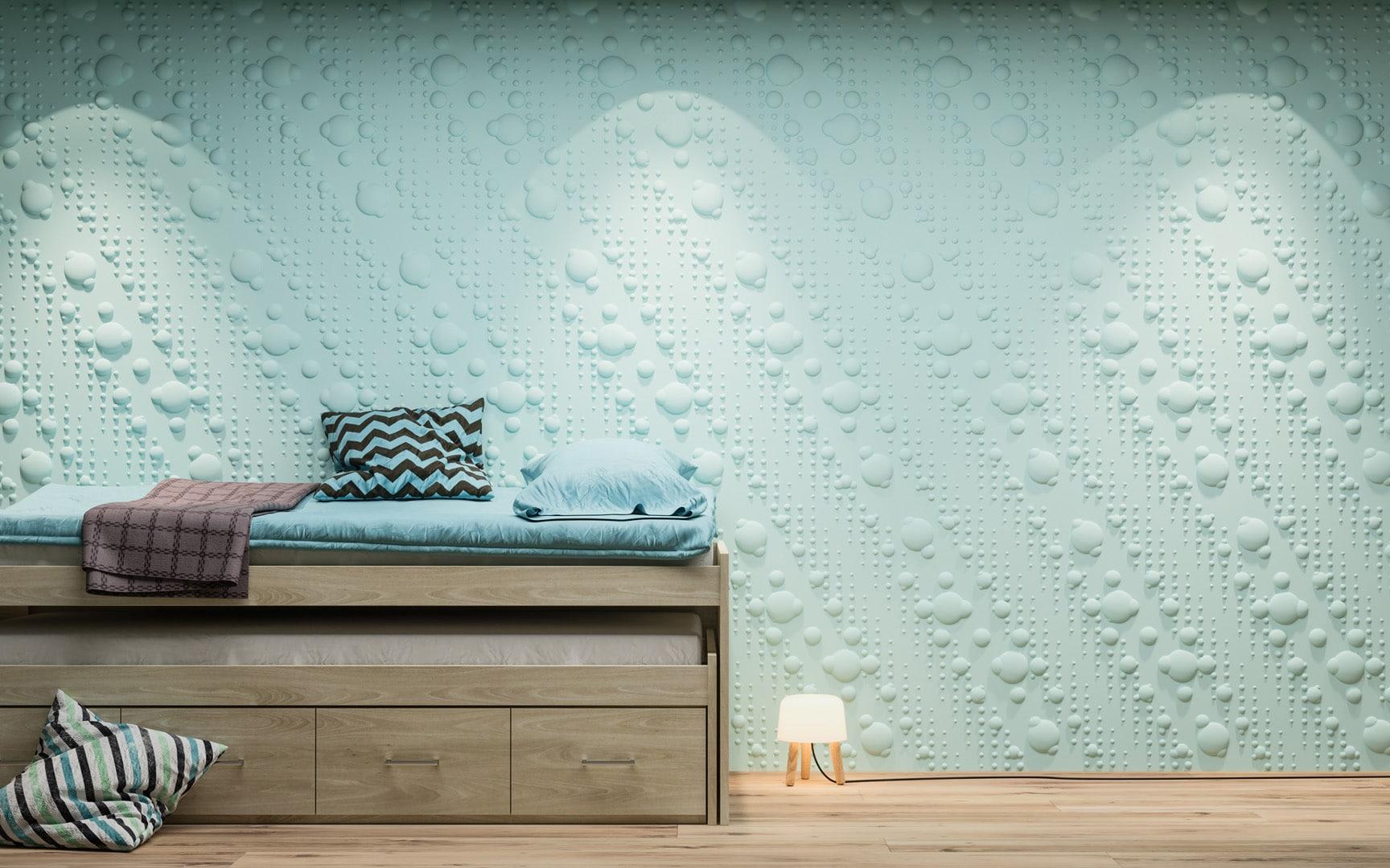 Panneaux 3D Naturamat Dunes BUBBLES