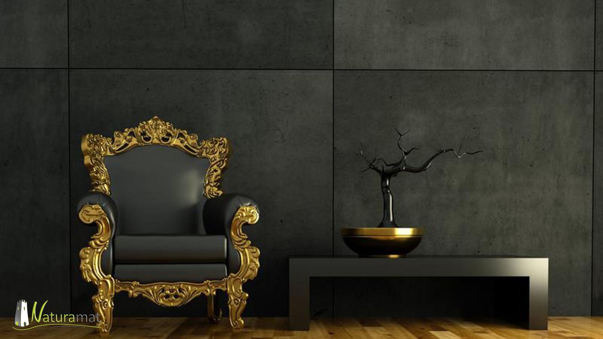 Feuille de béton Betonflex coloris Noir