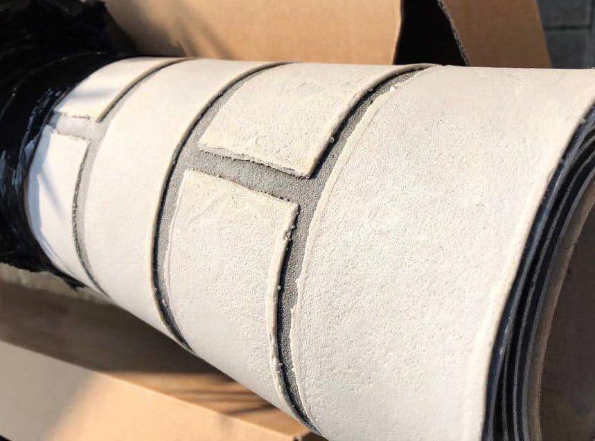 Designflex une feuille de pierre naturelle flexible de seulement 1mm d'épaisseur
