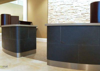 Feuille de pierre Designflex coloris Black
