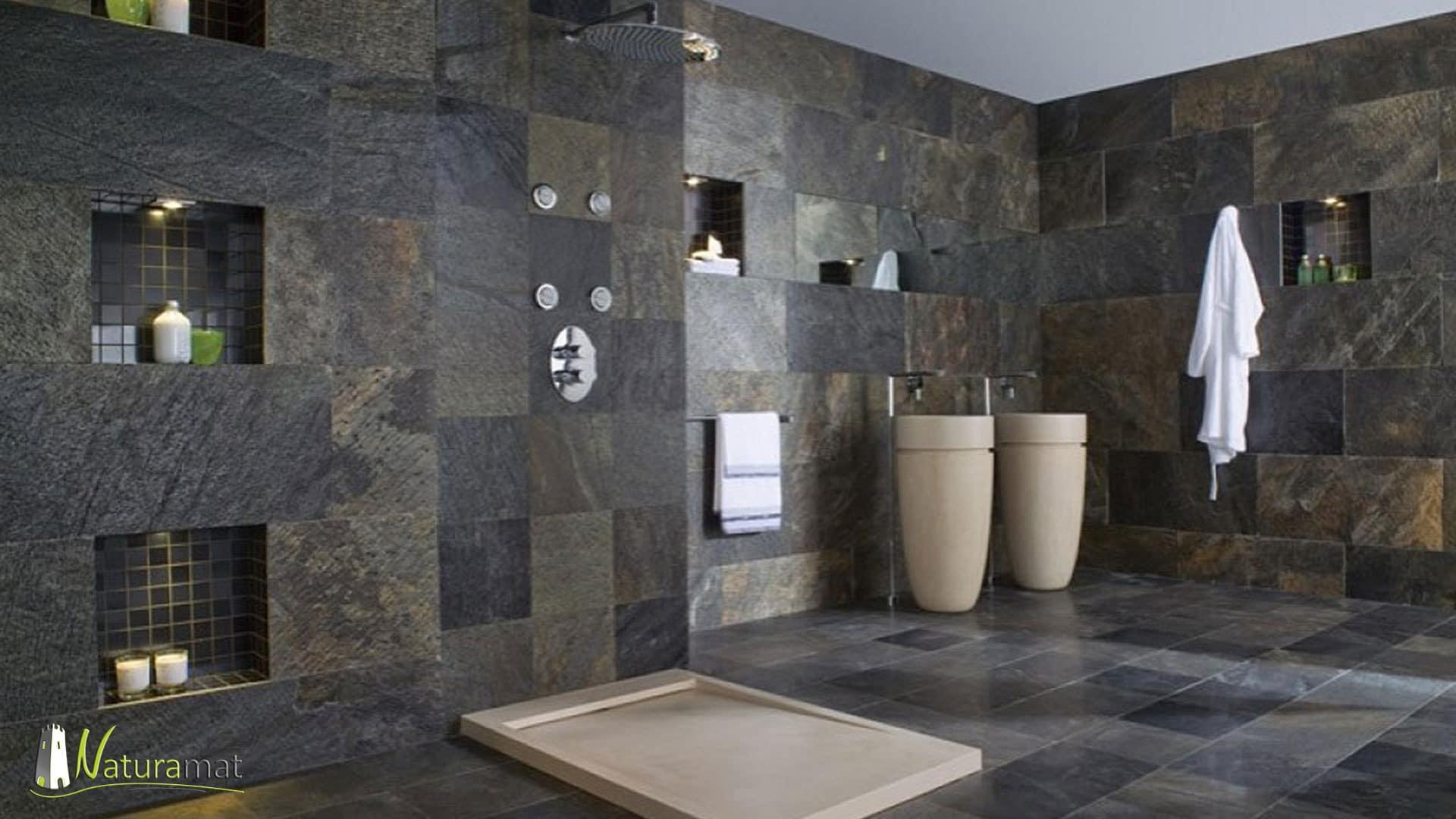 Pierre Naturelle Salle De Bain design de salle de bain, spa, hammam en feuille de pierre