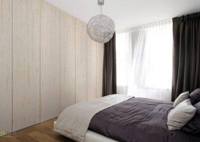 Décoration murale chambre avec de la feuille de sable