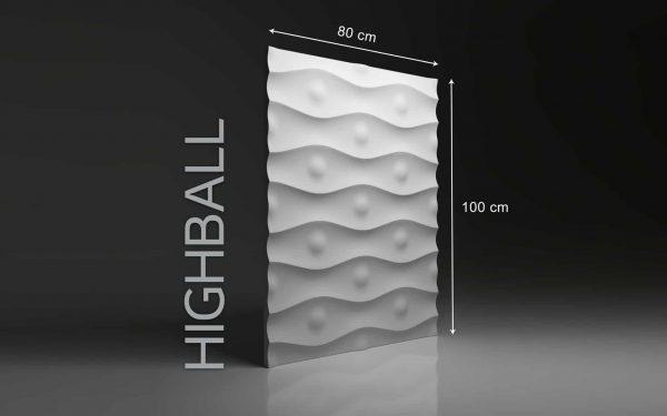 Panneaux 3D Naturamat Dunes HIGHBALL