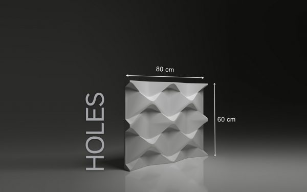 Panneaux 3D Naturamat Dunes HOLES