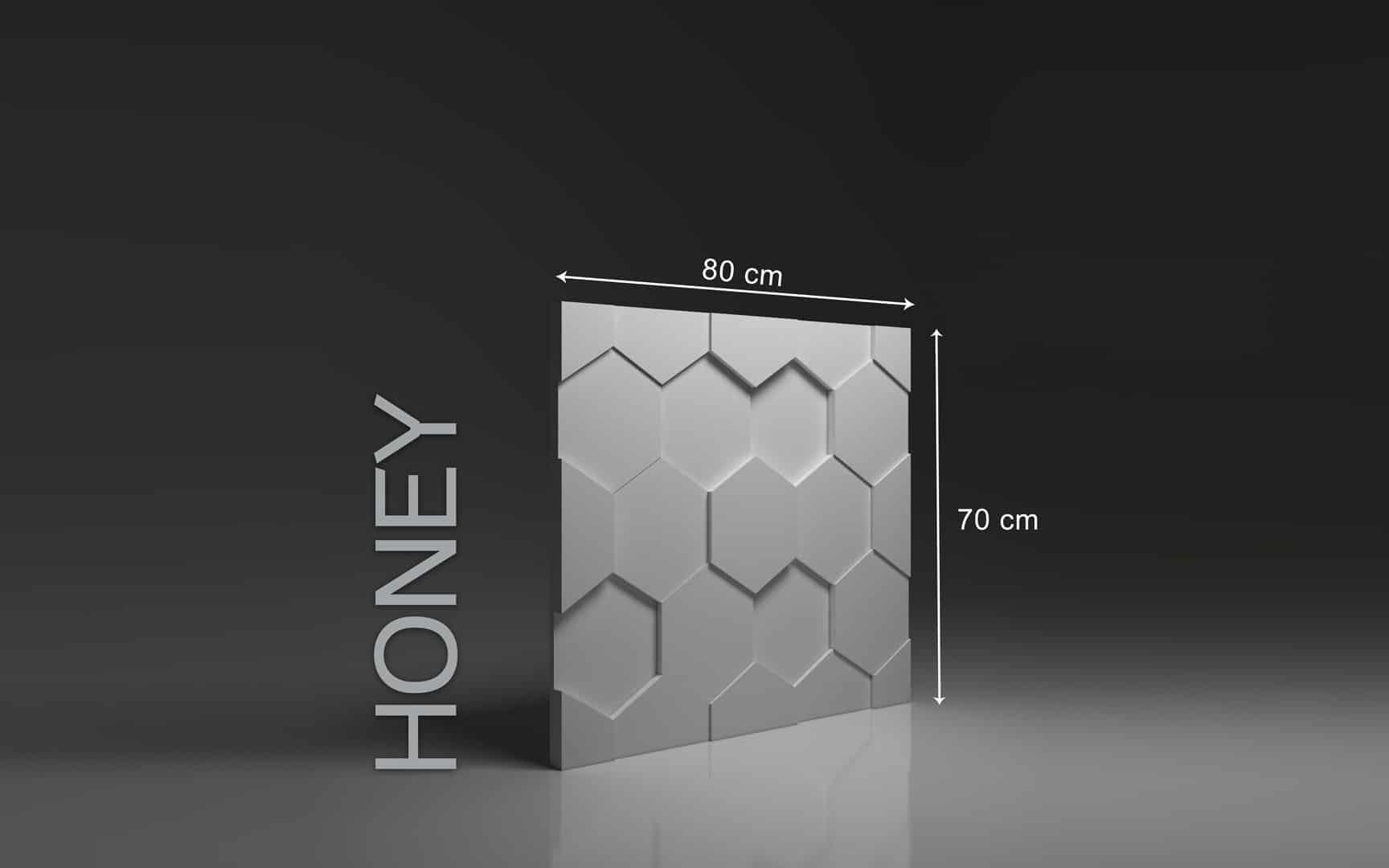 HONEY DIMENSIONS : hauteur 80 x largeur 70 cm ÉPAISSEUR : de 1,5 cm à 3,5 cm  POIDS : environ 12 kg