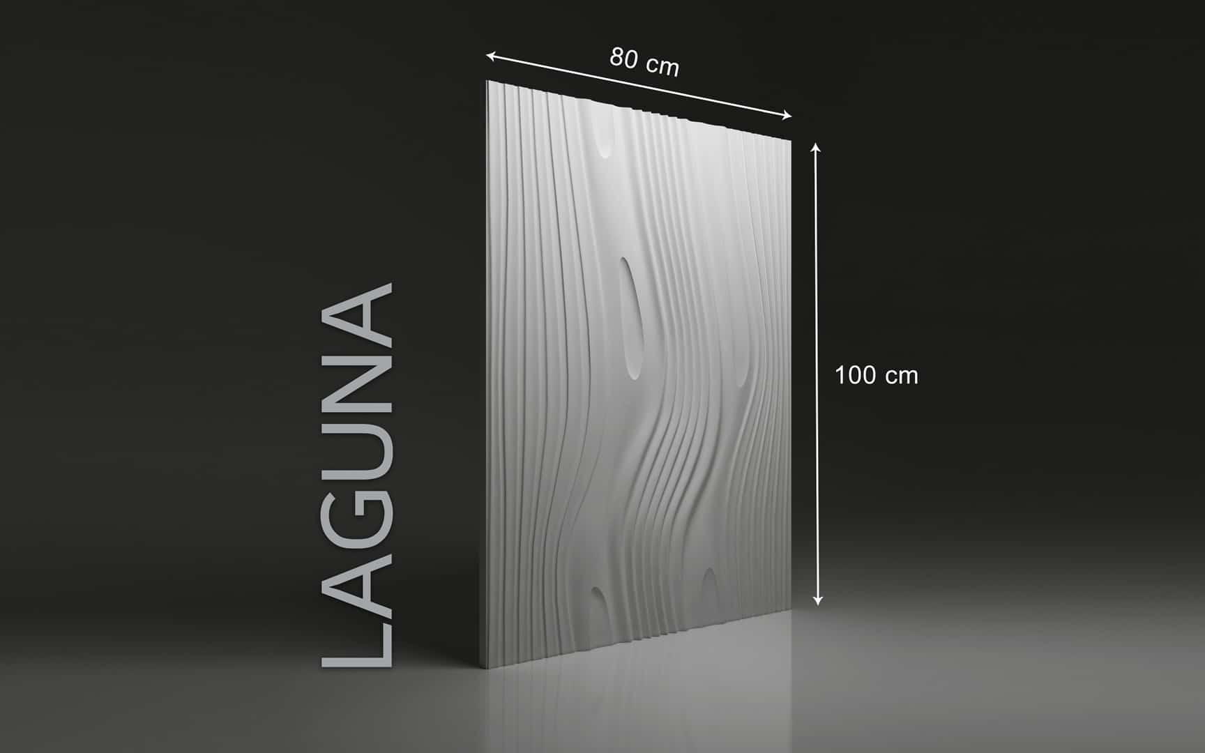 LAGUNA DIMENSIONS : hauteur 100 x largeur 80 cm ÉPAISSEUR : de 1,5 cm à 3,0 cm  POIDS : environ 12 kg