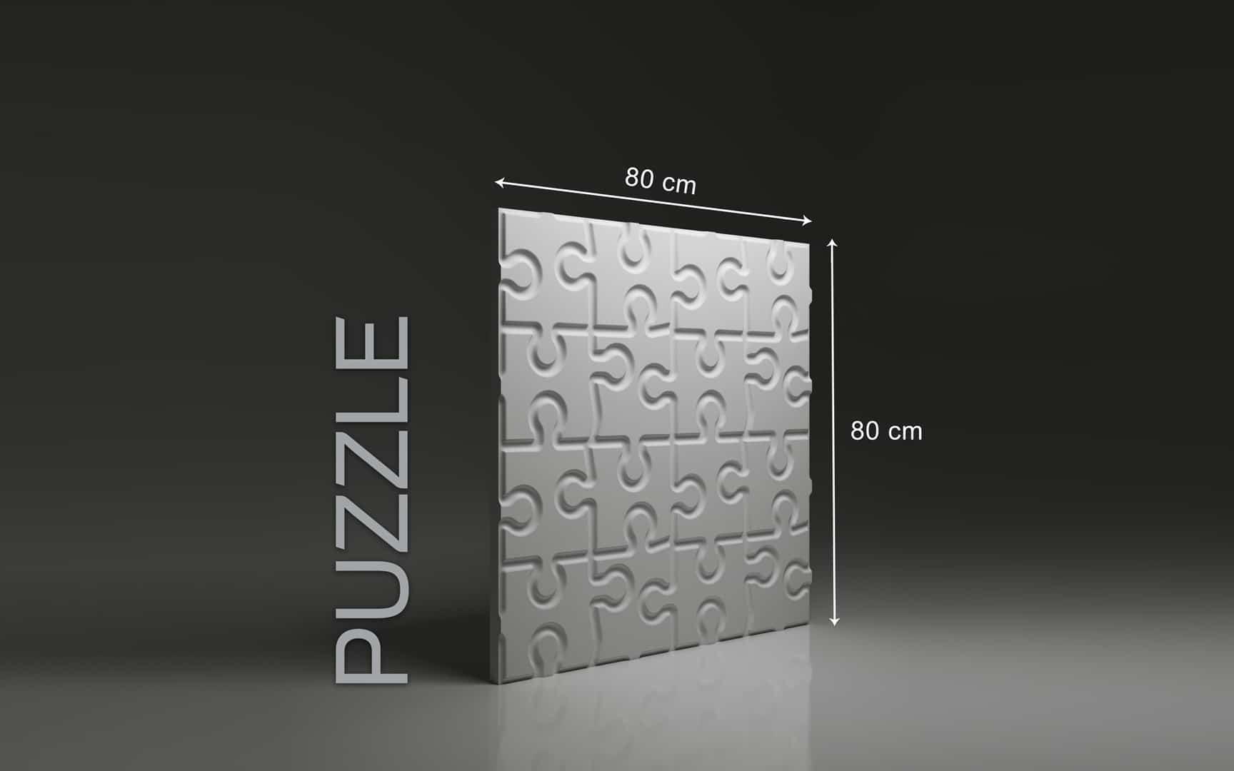 Panneaux 3D Naturamat Dunes PUZZLE