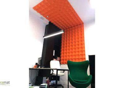 Décoration murale et plafond bureau Panneaux 3D Naturamat Dunes Pixels