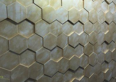 Décoration murale Panneaux 3D Naturamat Dunes Honey