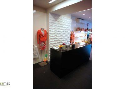 Agencement magasin Panneaux 3D Naturamat Dunes Highball