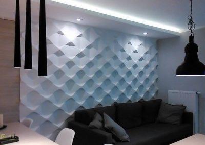 Décoration murale salon Panneaux 3D Naturamat Dunes Holes