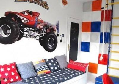 Décoration murale chambre enfant Panneaux 3D Naturamat Dunes Squares