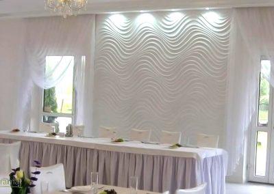 Décoration murale salle de réception Panneaux 3D Naturamat Dunes Curled