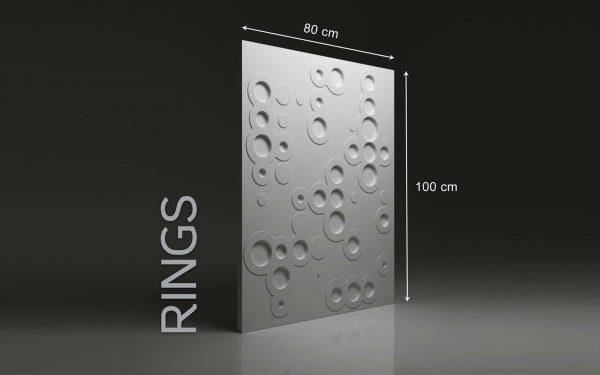 Panneaux 3D Naturamat Dunes RINGS