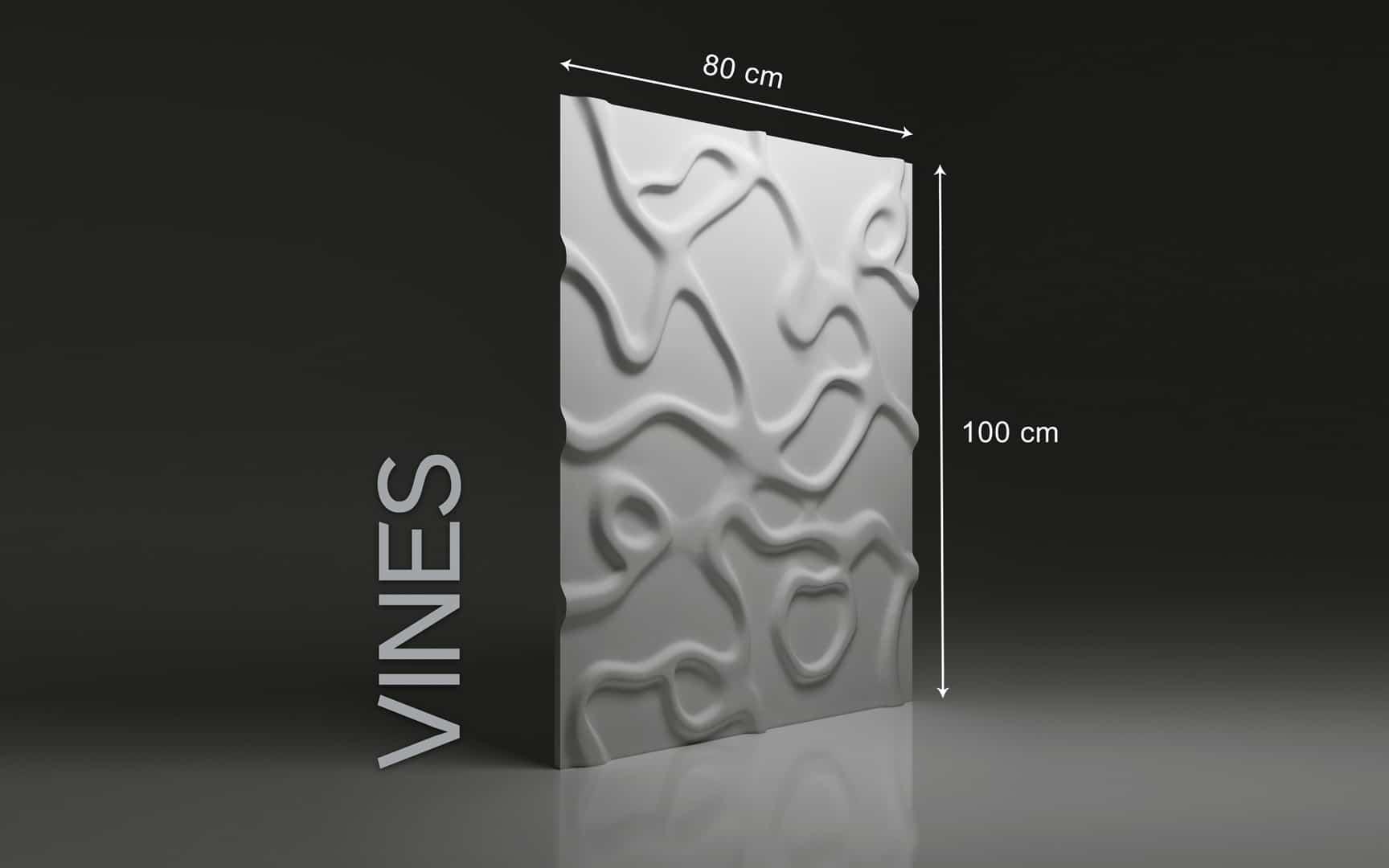 Panneaux 3D Naturamat Dunes VINES