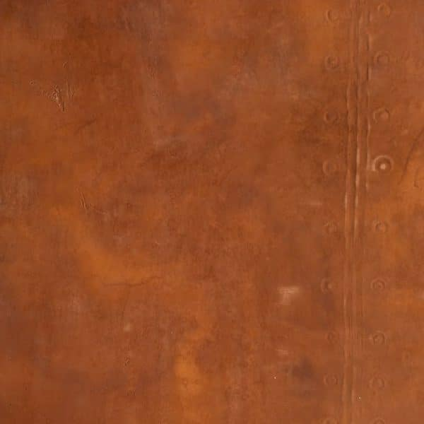 Feuille de rouille Naturamat Oxyflex effet riveté lisse 1078