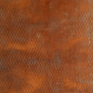 Feuille de rouille Naturamat Oxyflex Striée en Losange de taille normale 1011